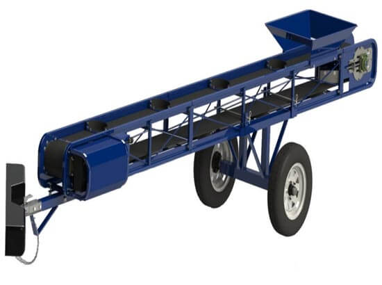 Flat belt portable conveyor CONV-24
