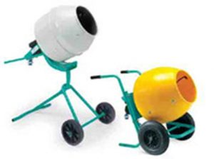 Concrete Mixer 5 CU.FT Electric