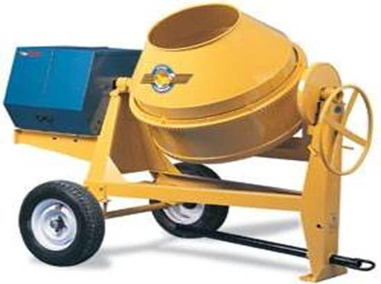 Concrete Mixer 9 CU.FT Gas
