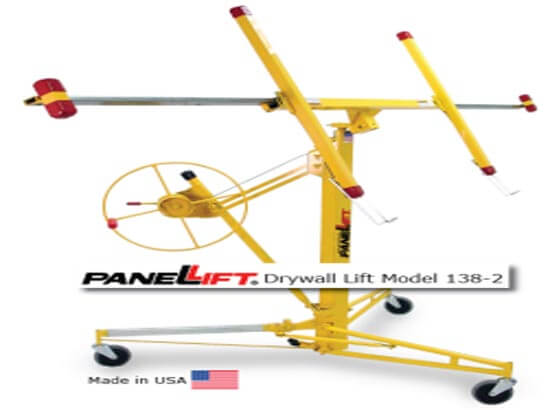 Panel lifts Drywall lifter