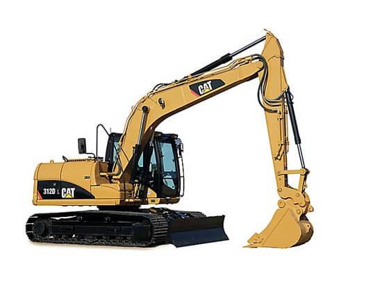 Excavator CAT 312D