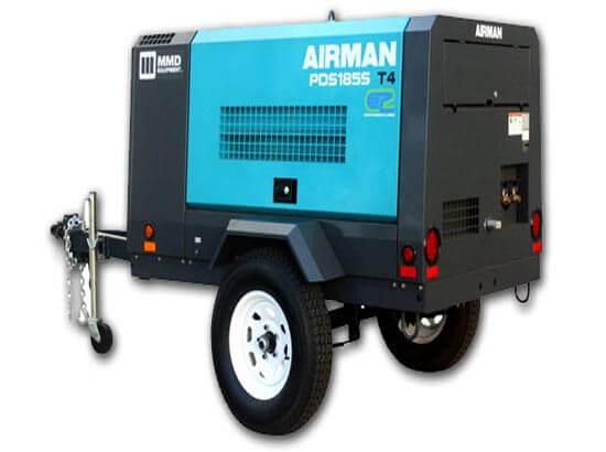 Air Compressor 185 CFM